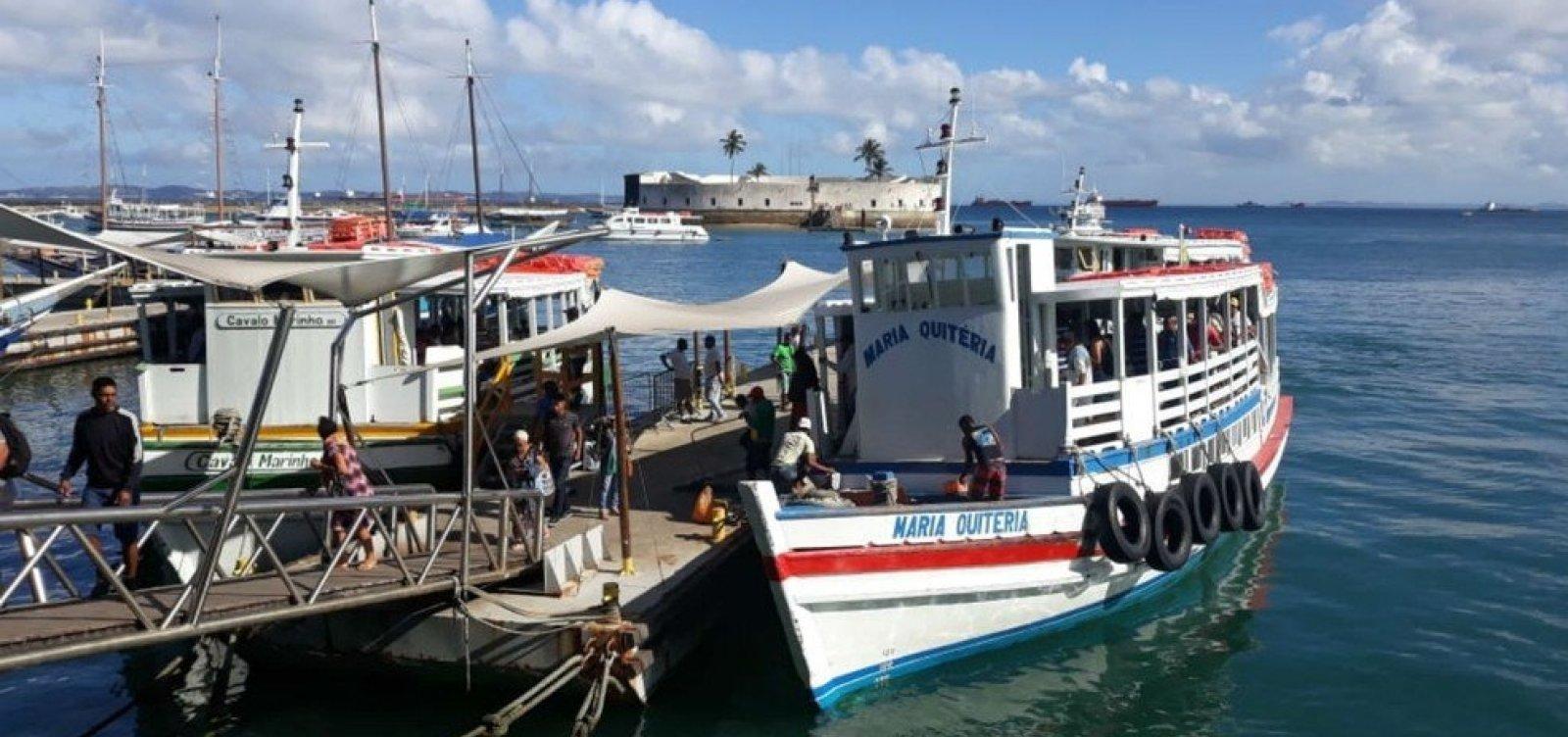 Travessia Salvador-Mar Grande é suspensa por mau tempo