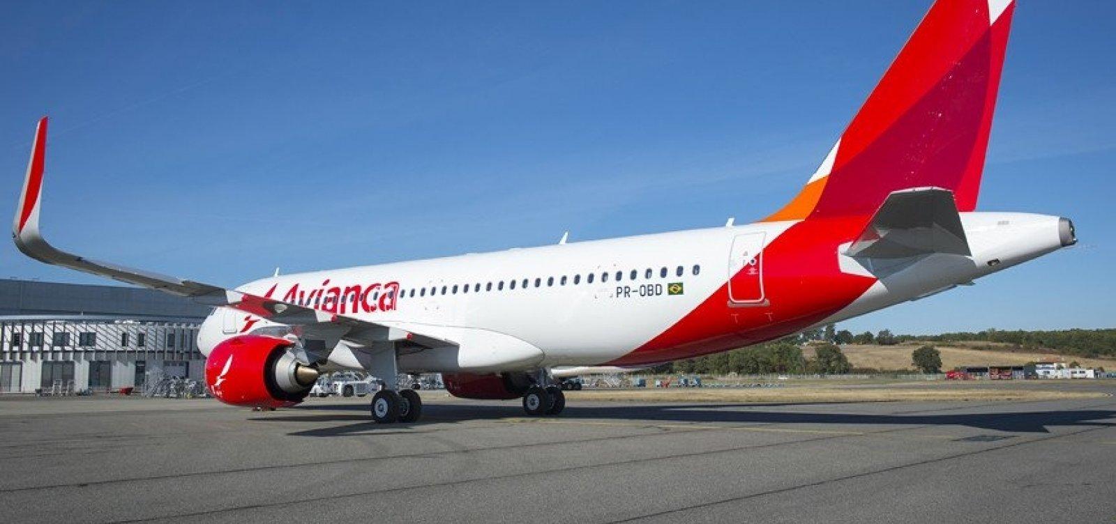 Avianca cancela 422 voos neste fim de semana