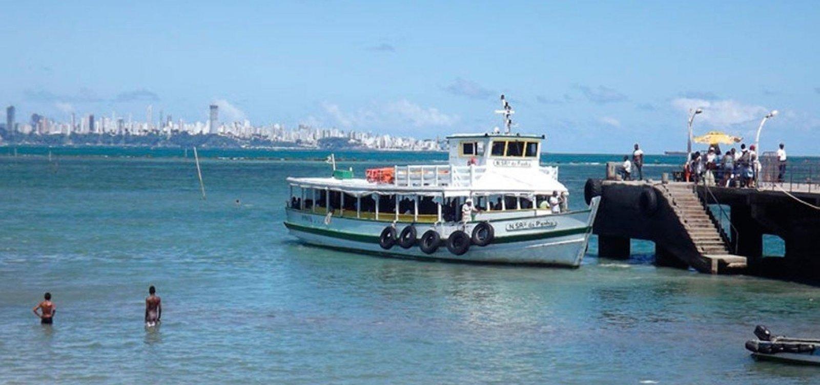 Travessia Salvador-Mar Grande tem operação restabelecida