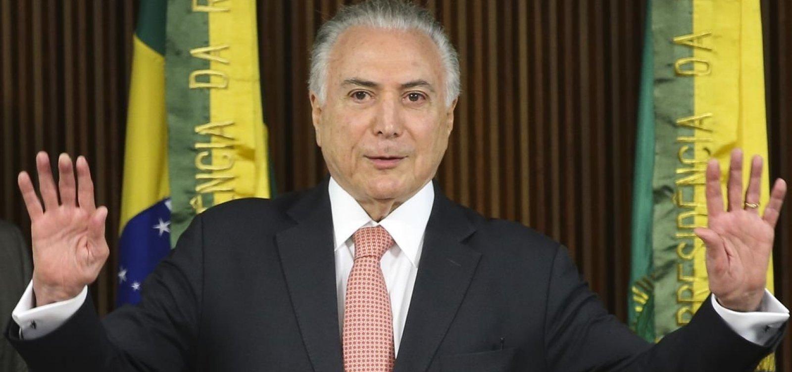 Ministro do STJ se declara impedido para julgar liberdade de Temer
