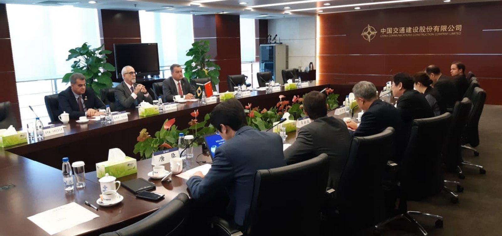 Empresas chinesas confirmam interesse em licitação da Ponte Salvador-Itaparica