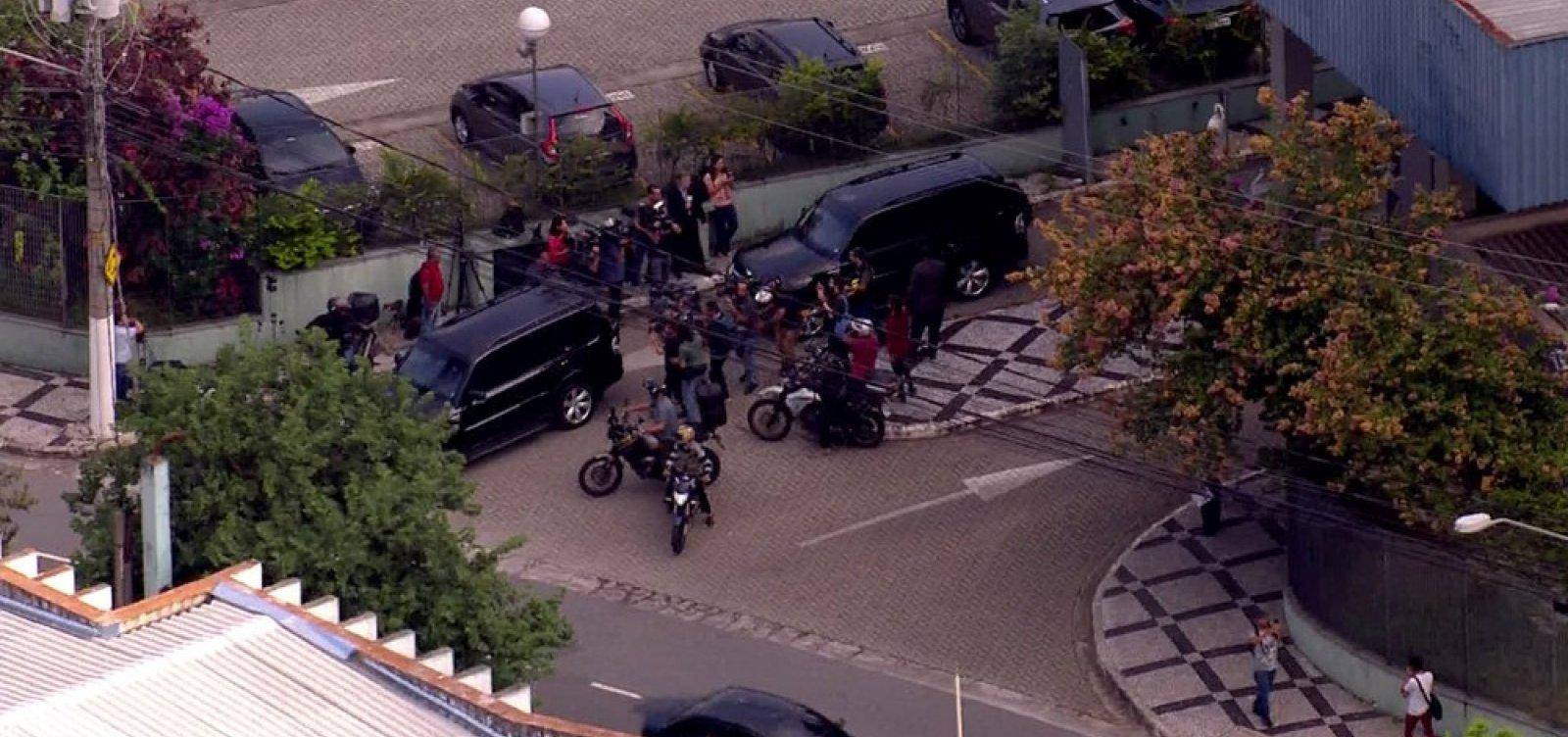 Temer é transferido para o Comando de Policiamento de Choque, em São Paulo