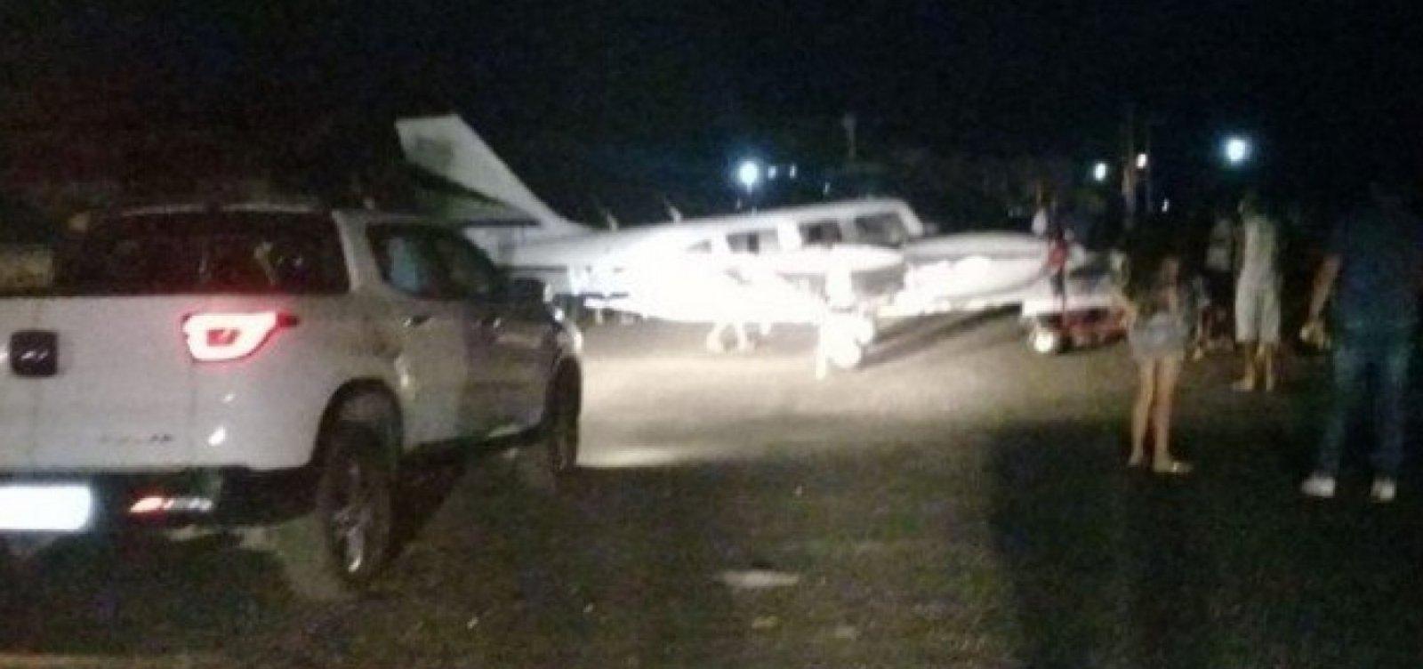 Anac vai investigar pouso de avião que levava Amado Batista