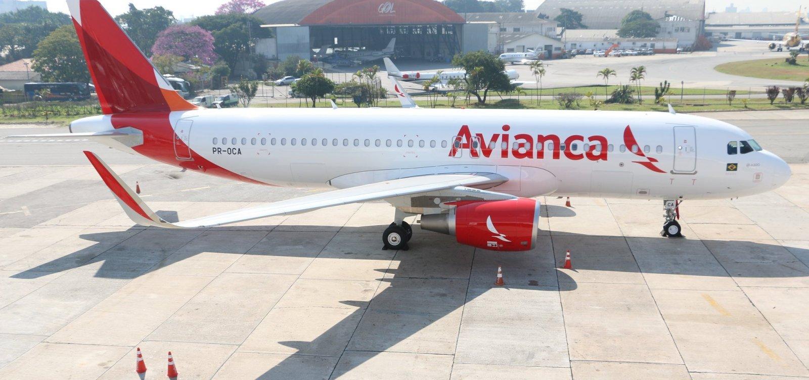 Sem salário, tripulantes da Avianca entram em greve na sexta-feira