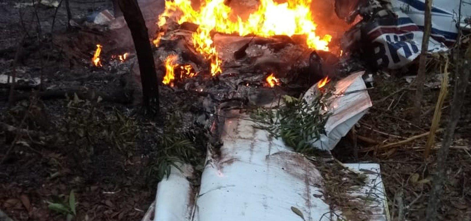 Médico e esposa morrem em queda de avião no Mato Grosso do Sul