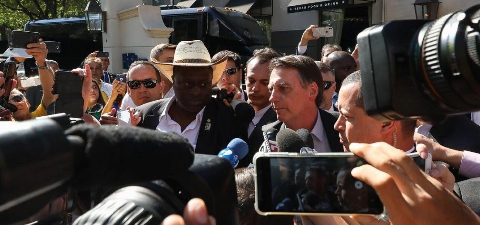 Arrecadação pequena levou a contingenciamento, diz Bolsonaro