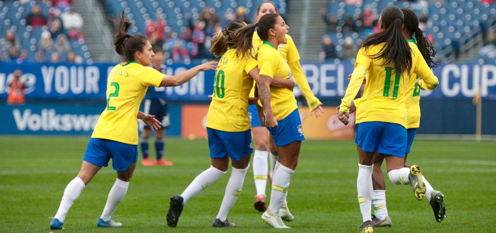 Com atleta baiana, seleção feminina é convocada para Mundial da França