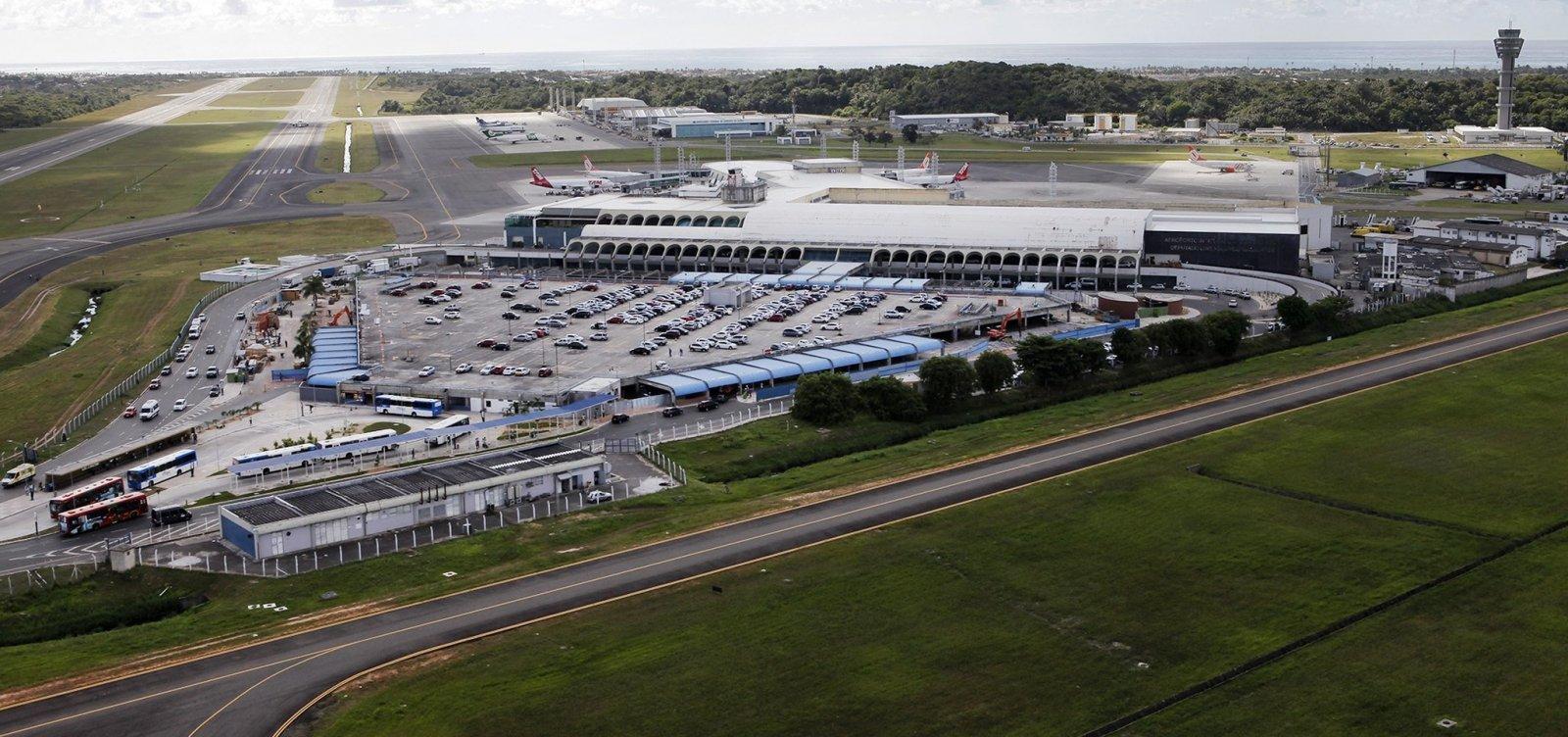 Obras e vento forte impedem pousos no Aeroporto de Salvador