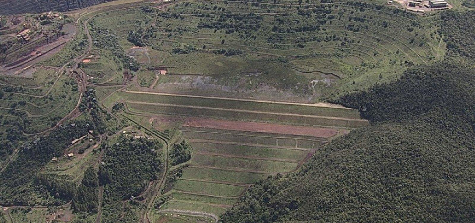 Barragem em Barão de Cocais pode se romper a partir de domingo