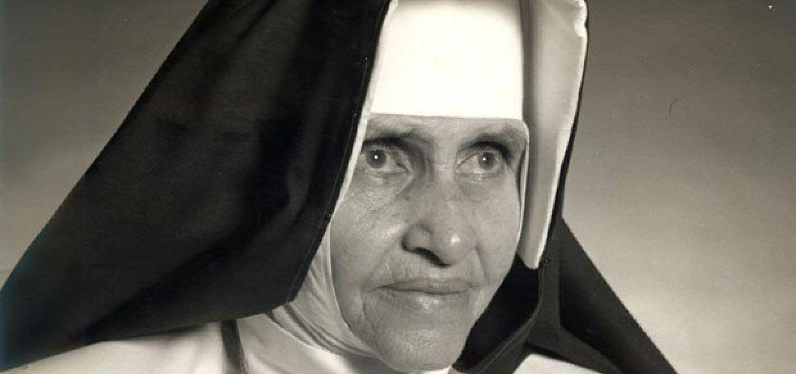 Osid pede audiência com Bolsonaro sobre canonização de Irmã Dulce