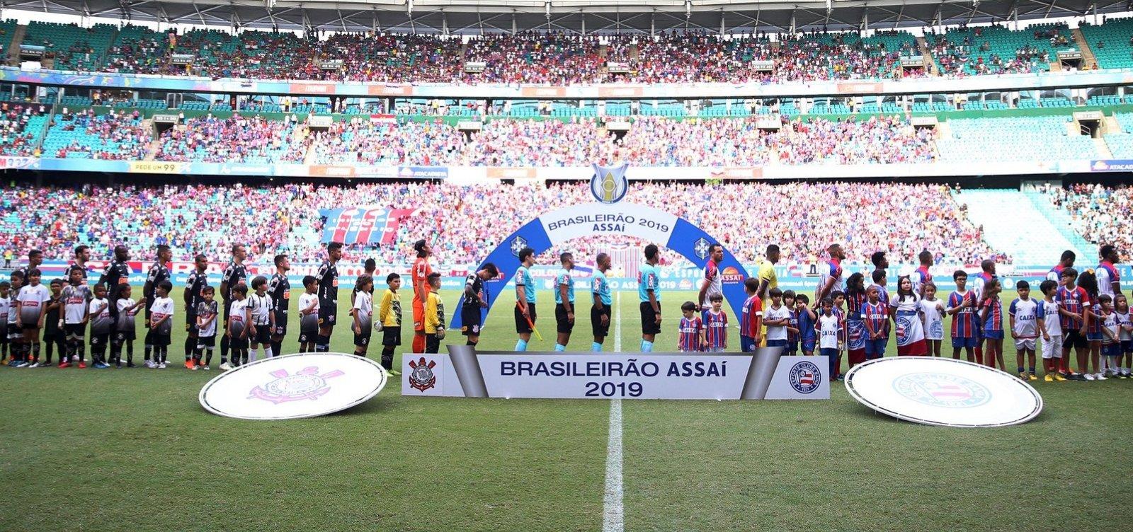 Bahia divulga mandos de campo para partidas pré-Copa América