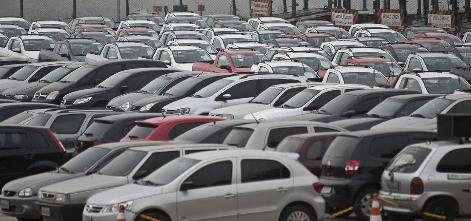Veículos com placas de finais 5 e 6 têm desconto de 5% no IPVA em maio