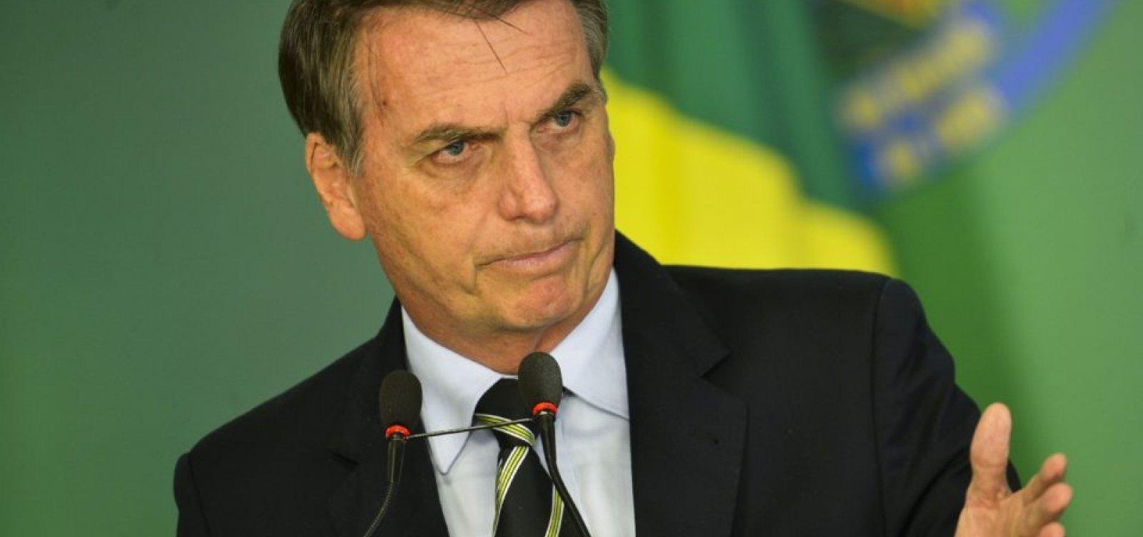 Apenas passei, diz Bolsonaro após compartilhar texto que classifica o país como 'ingovernável'