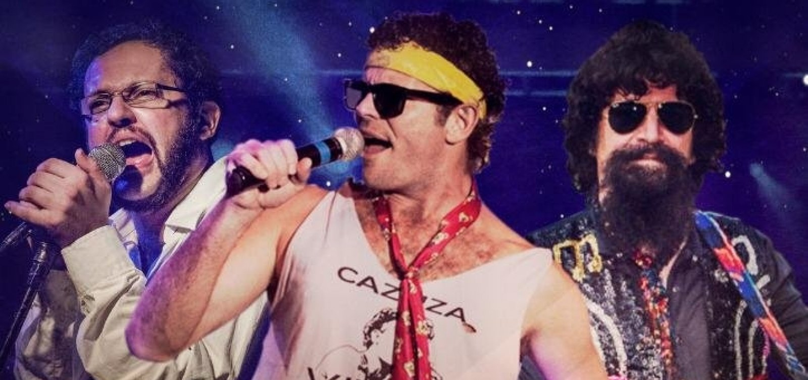 Espétaculo com intérpretes de Cazuza, Raul e Renato estreia neste domingo no TCA