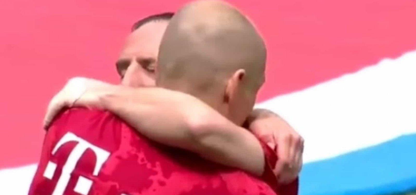 Multicampeões, Robben e Ribéry se despedem do Bayern de Munique com título do Alemão