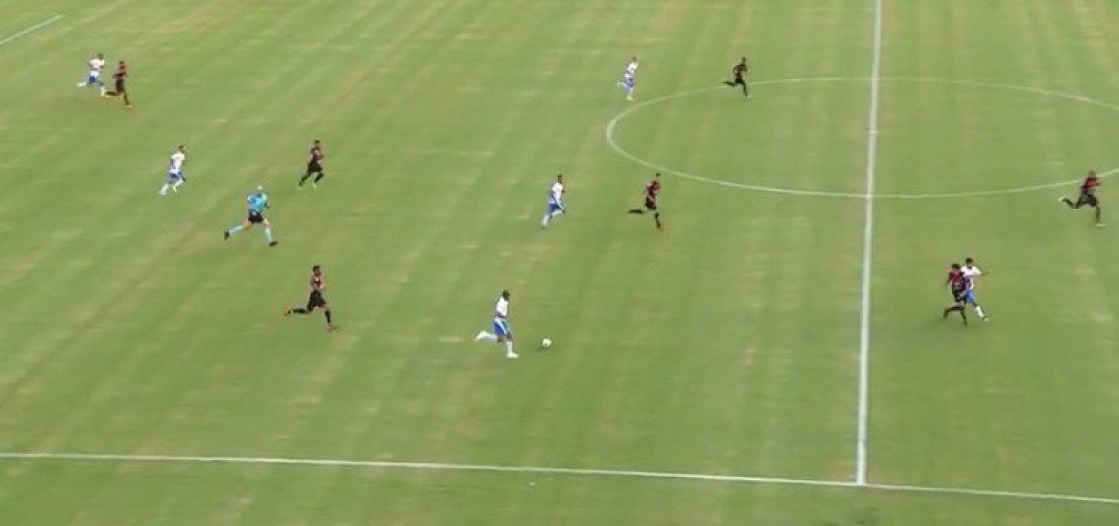 De virada, Vitória perde por 3 a 1 para o São Bento no Barradão