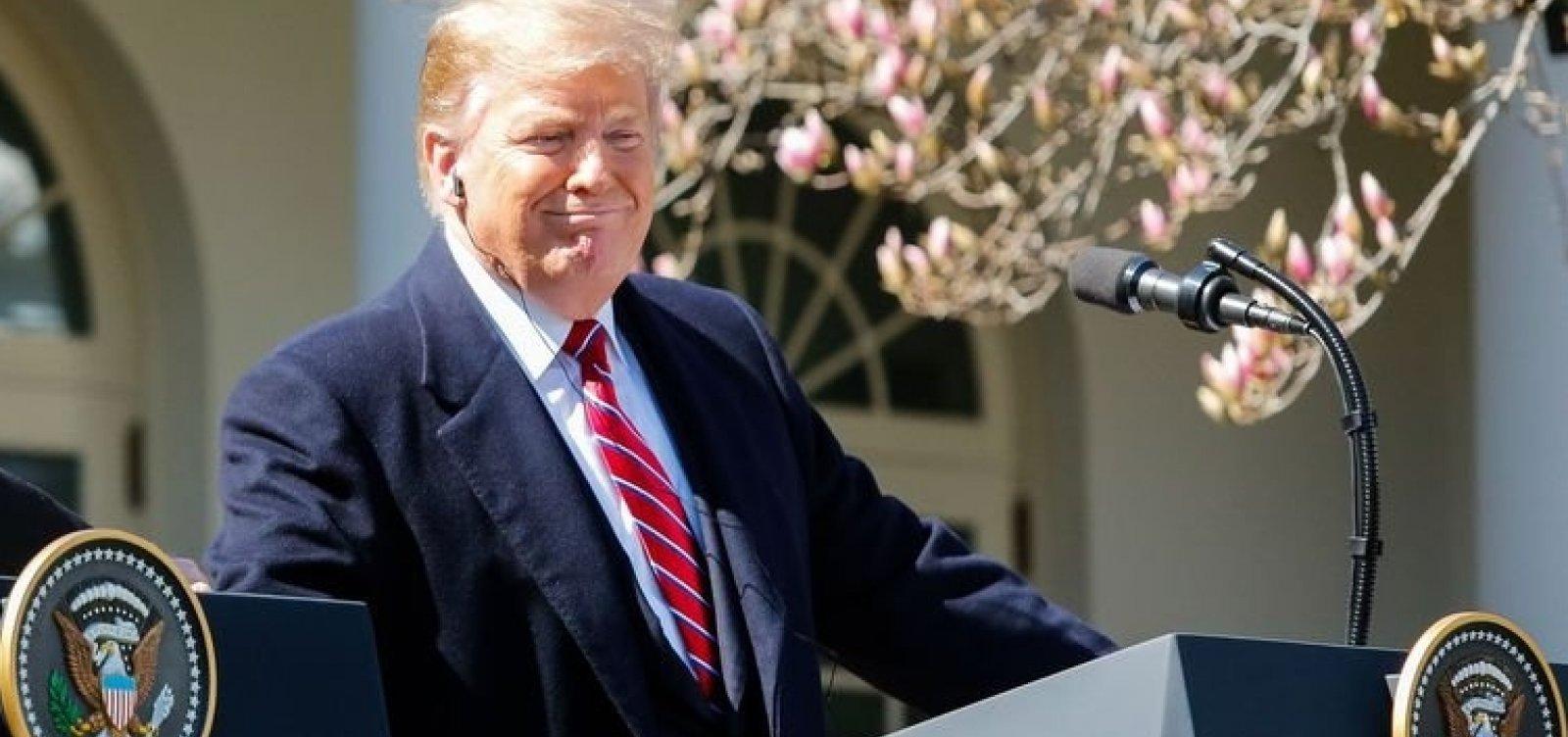 'Se o Irã quiser brigar, será o fim oficial do Irã', diz Donald Trump