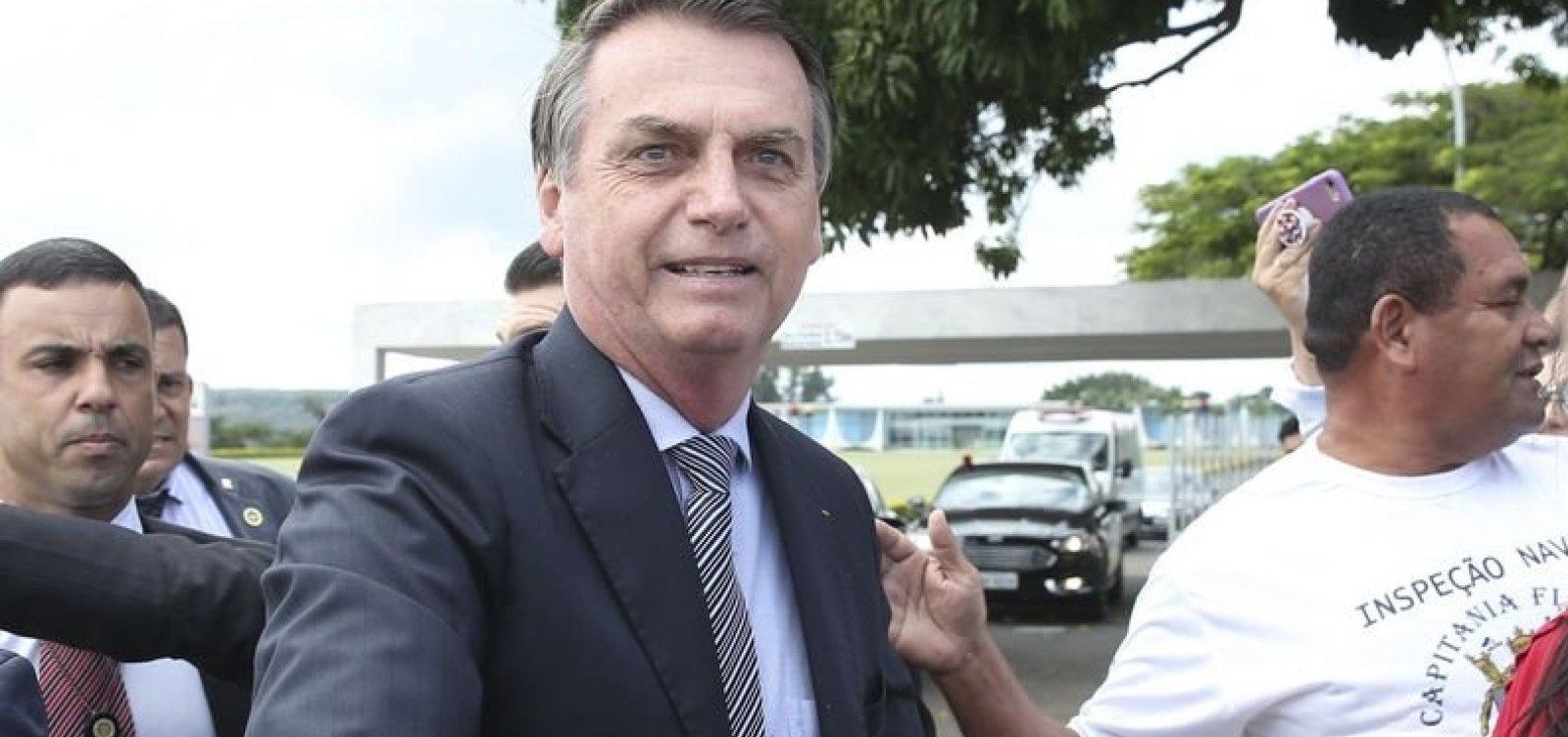 Bolsonaro diz que Brasil é 'um país maravilhoso, mas o grande problema é a classe política'