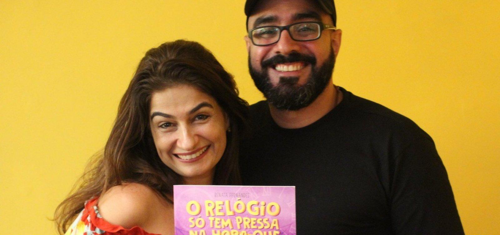 Escritora Renata Fernandes lança livro infantil neste domingo