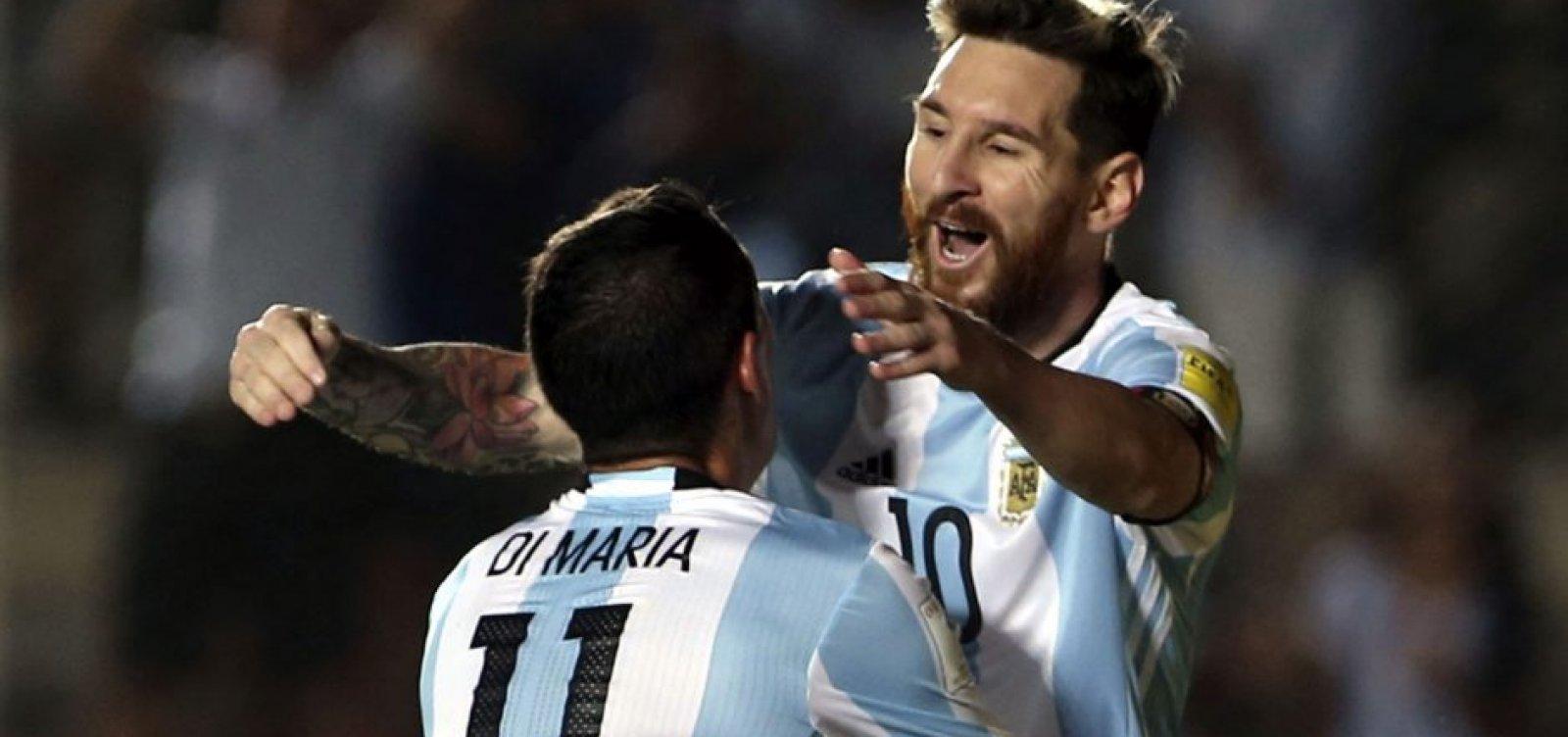 Messi, Agüero e Di María são convocados e jogarão na Fonte Nova em estréia na Copa América