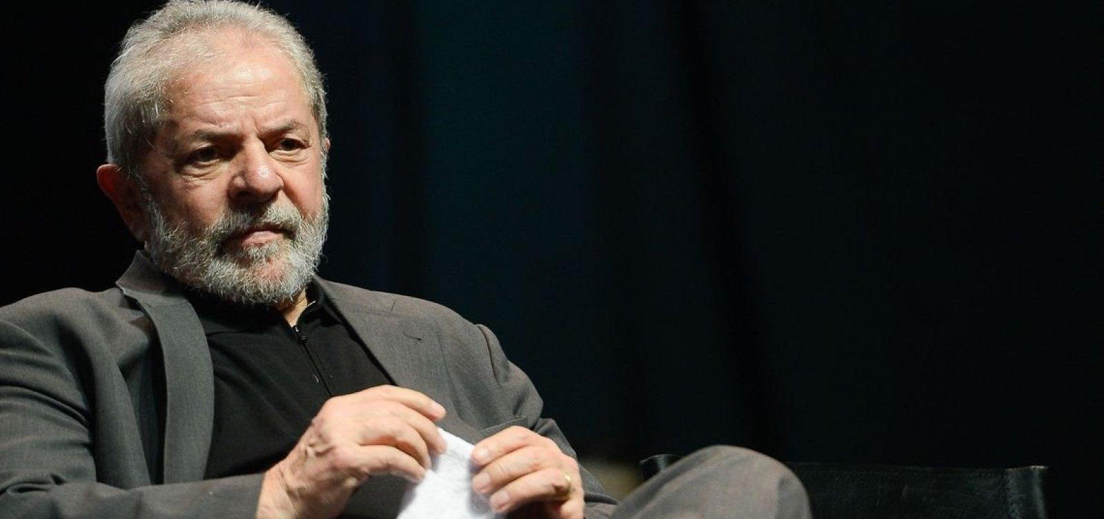 Lula diz que delação premiada é 'tortura sofisticada'