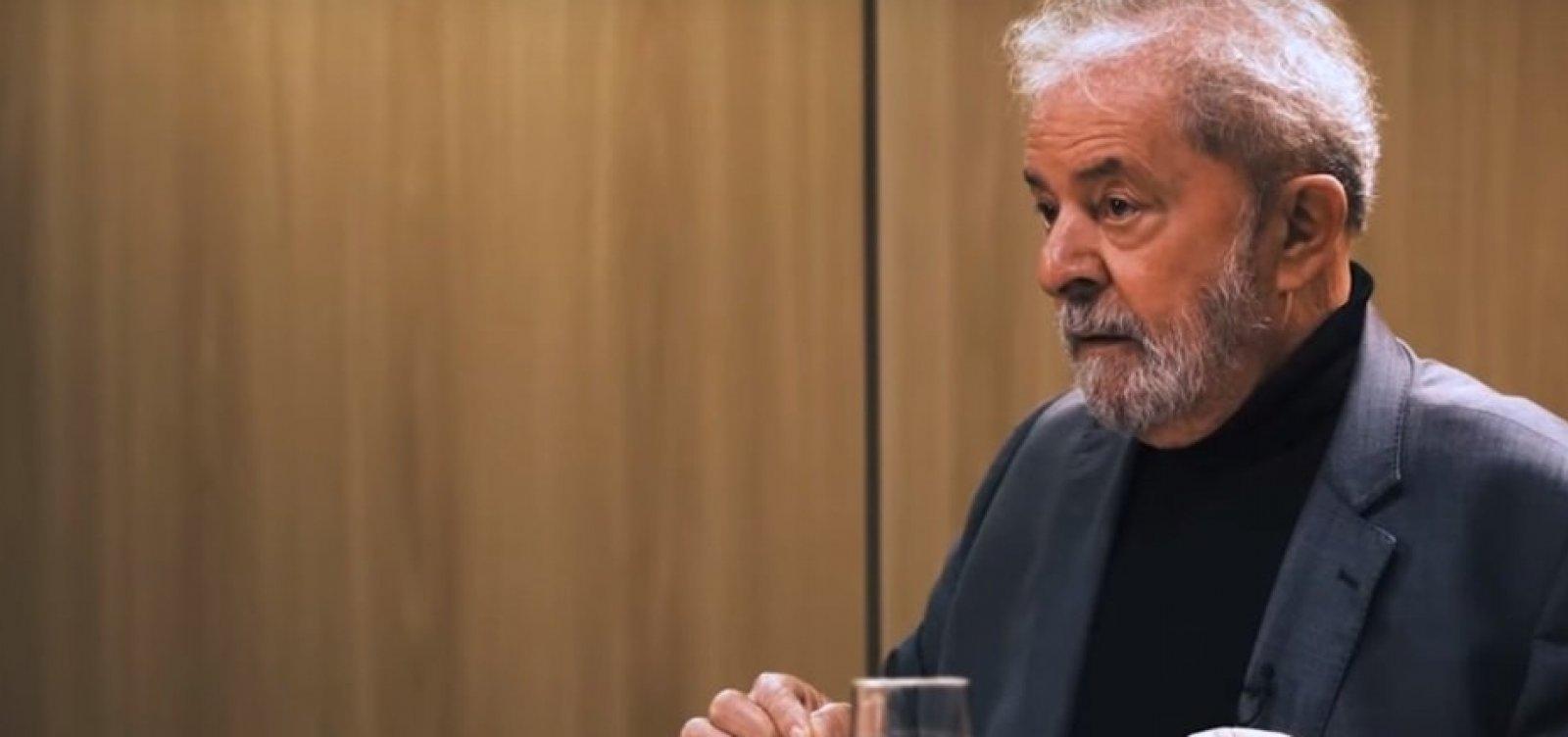Lula: 'Bolsonaro é a velha política, eu sou a nova'
