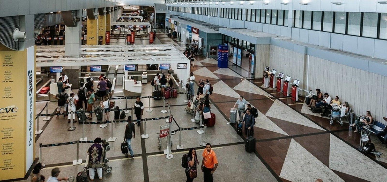 Despacho de bagagem de mão fora do padrão começa hoje em Salvador