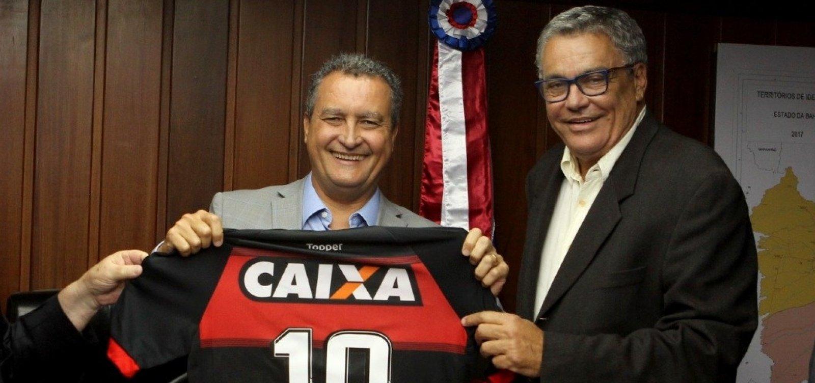 Boca quente: Rui doa camisa do Vitória e comunicação do clube segue ladeira abaixo