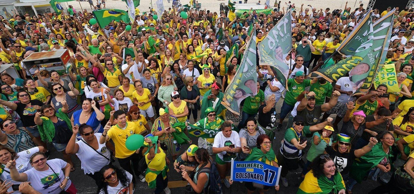 Salvador e doze cidades baianas devem ter atos pró-Bolsonaro