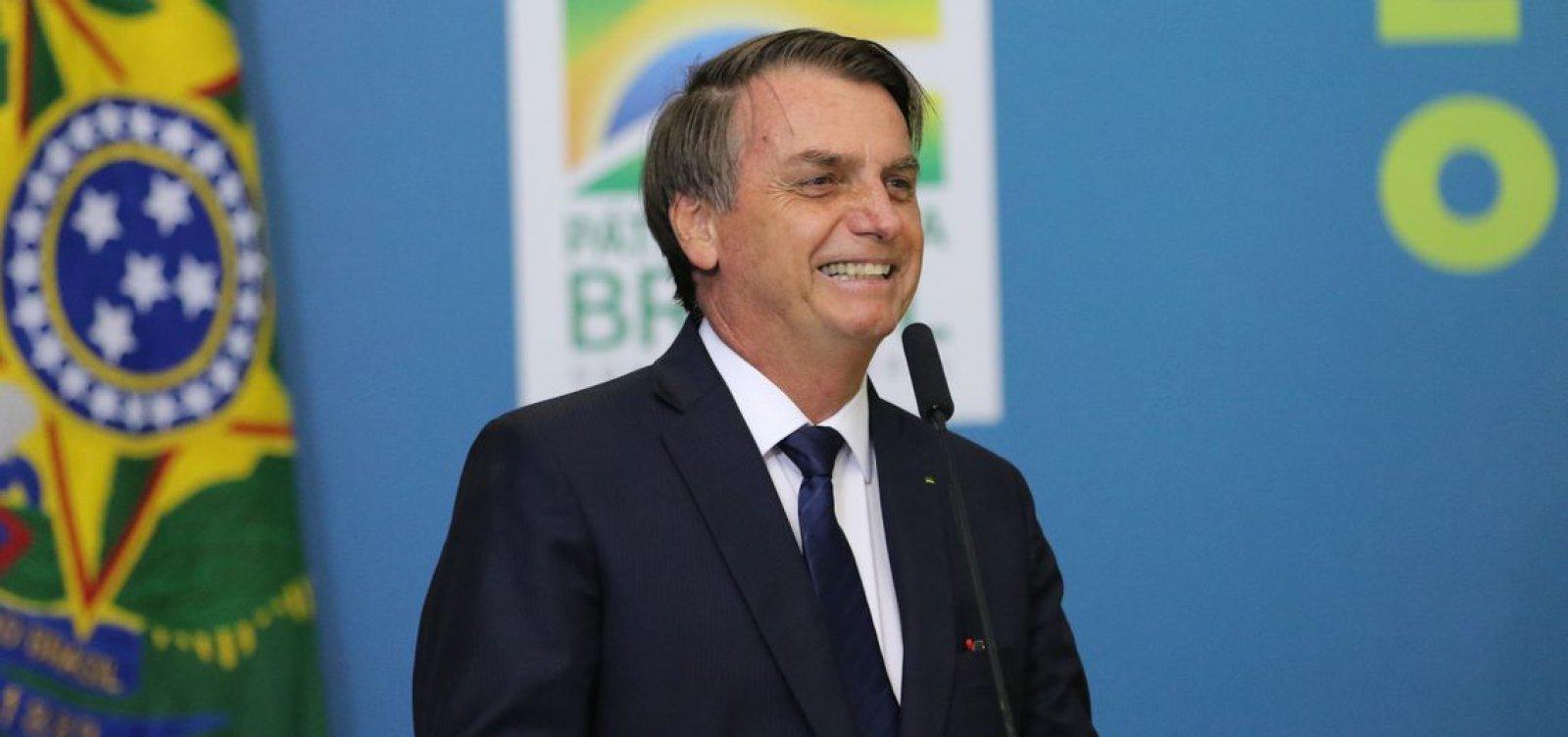'Estou me incluindo', diz Bolsonaro após afirmar que classe política é o 'grande problema' do Brasil