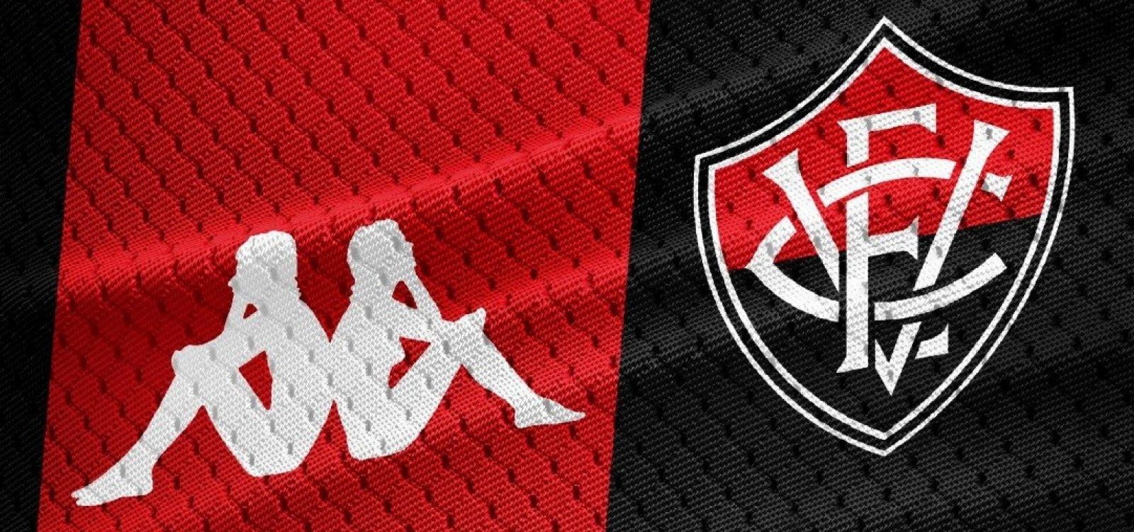 Novos uniformes do Vitória serão lançados no fim de maio