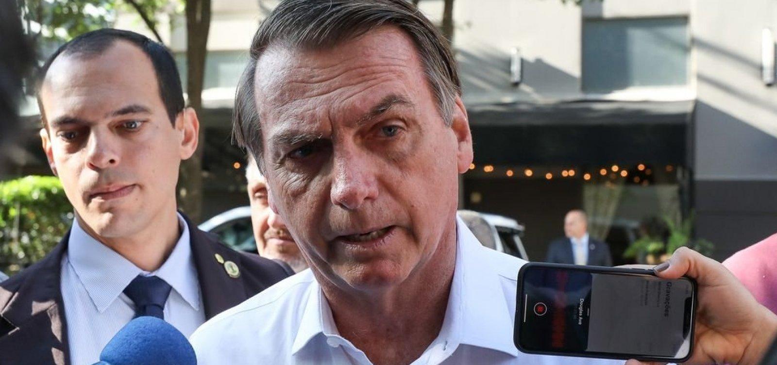 Bolsonaro diz que 'coração manda' manter decisão contra cobrança de bagagens em voos