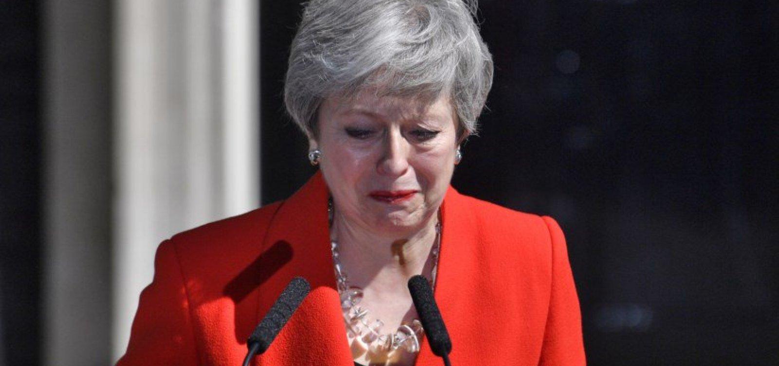 Primeira-ministra do Reino Unido, Theresa May anuncia renúncia ao cargo