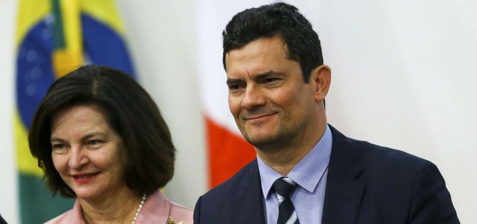 Moro pediu verba de multa da Petrobras para seu ministério