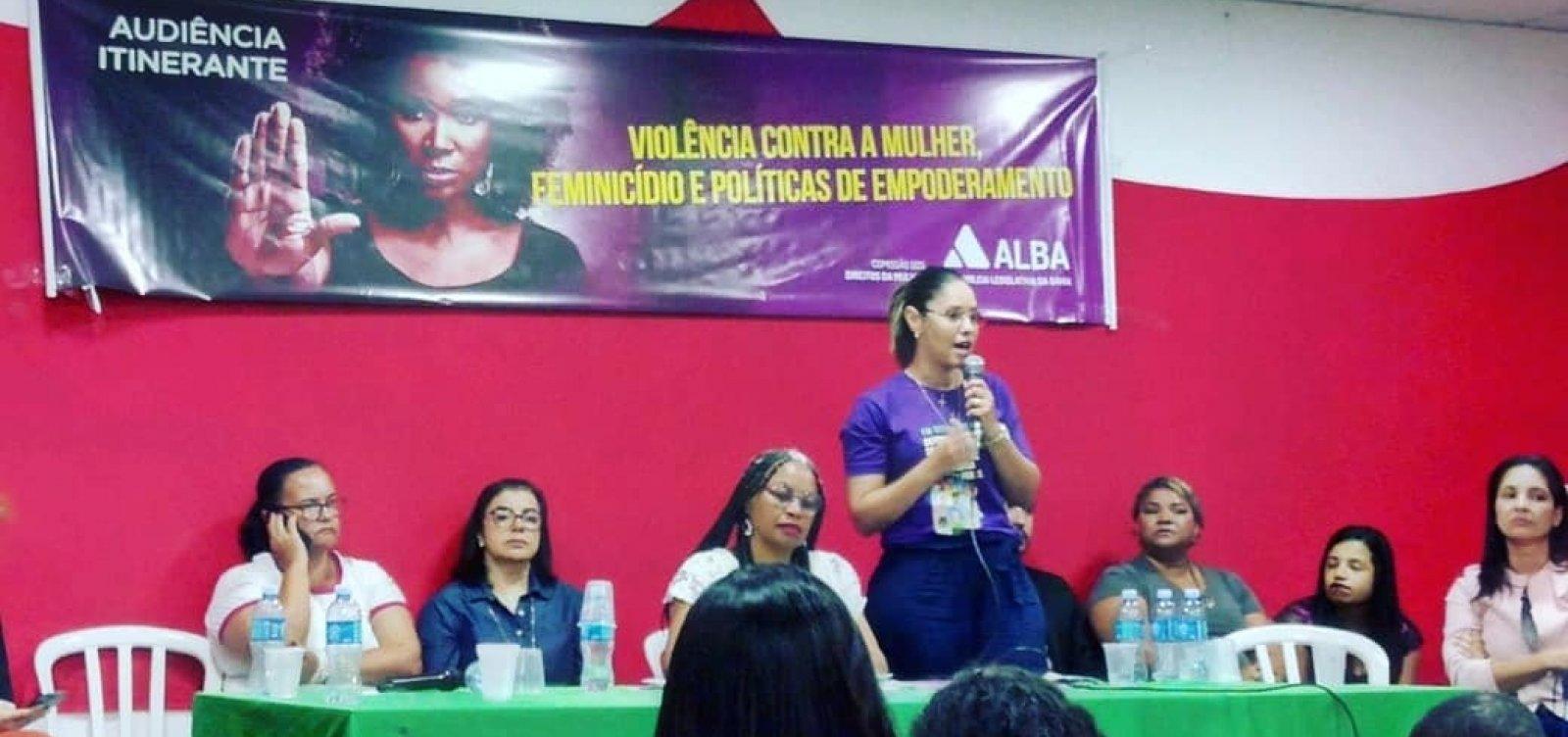 Audiência discute violência contra mulher e empoderamento em Valença