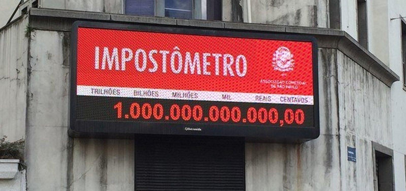 Brasileiros já pagaram R$ 1 trilhão em impostos desde o início do ano