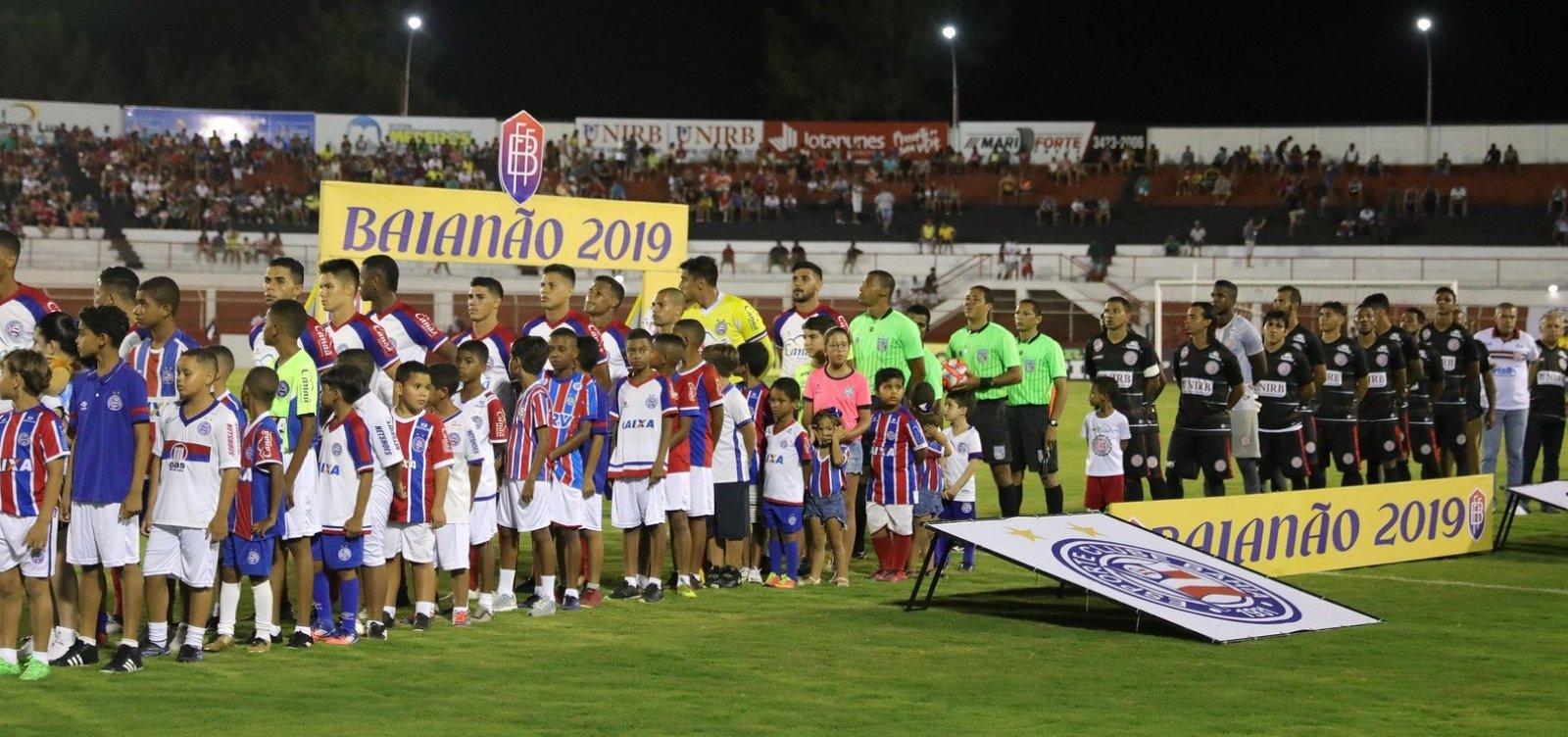 Bahia vai mandar jogos do Sub-23 em estádios do interior