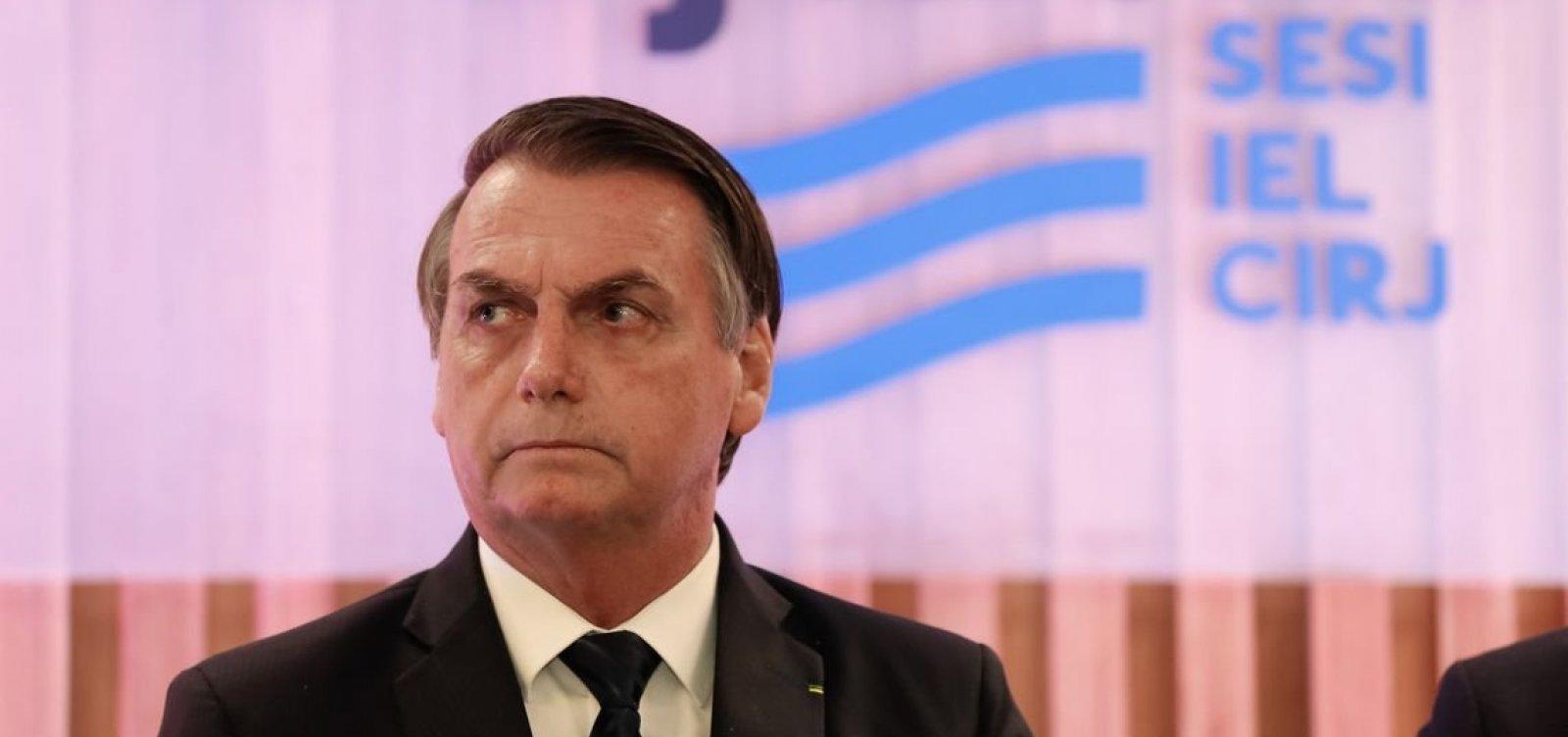 'Ninguém é obrigado a ficar como ministro meu', diz Bolsonaro sobre Guedes