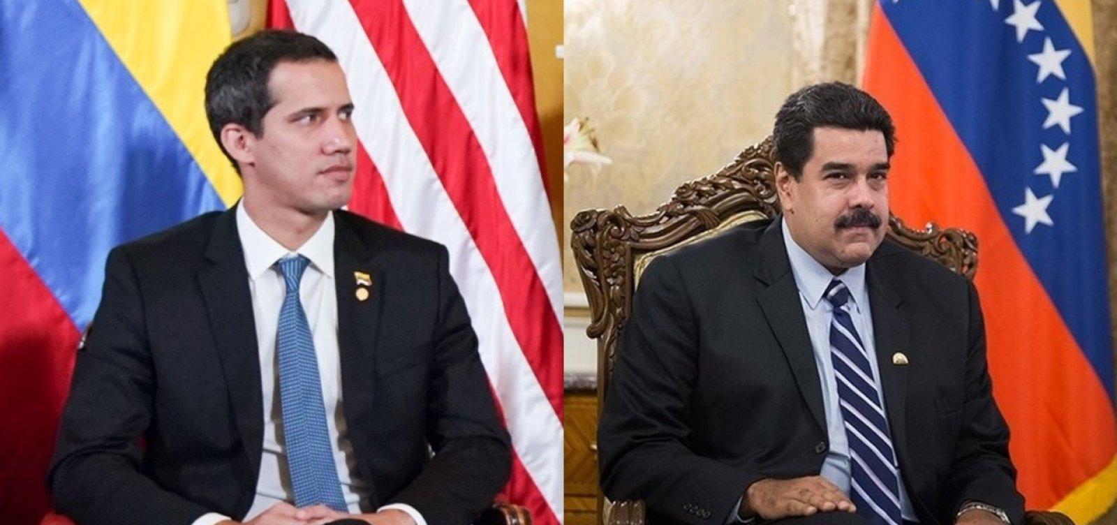 Guaidó e Maduro aceitam convite para nova rodada de conversas na Noruega