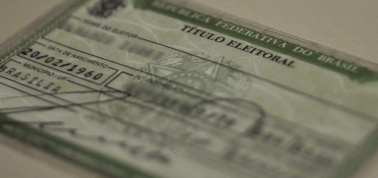 Justiça Eleitoral cancela mais de 90 mil títulos no estado