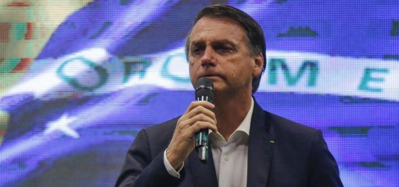 'Que Deus receba essas vidas de braços abertos', diz Bolsonaro sobre morte de Gabriel Diniz e tripulantes