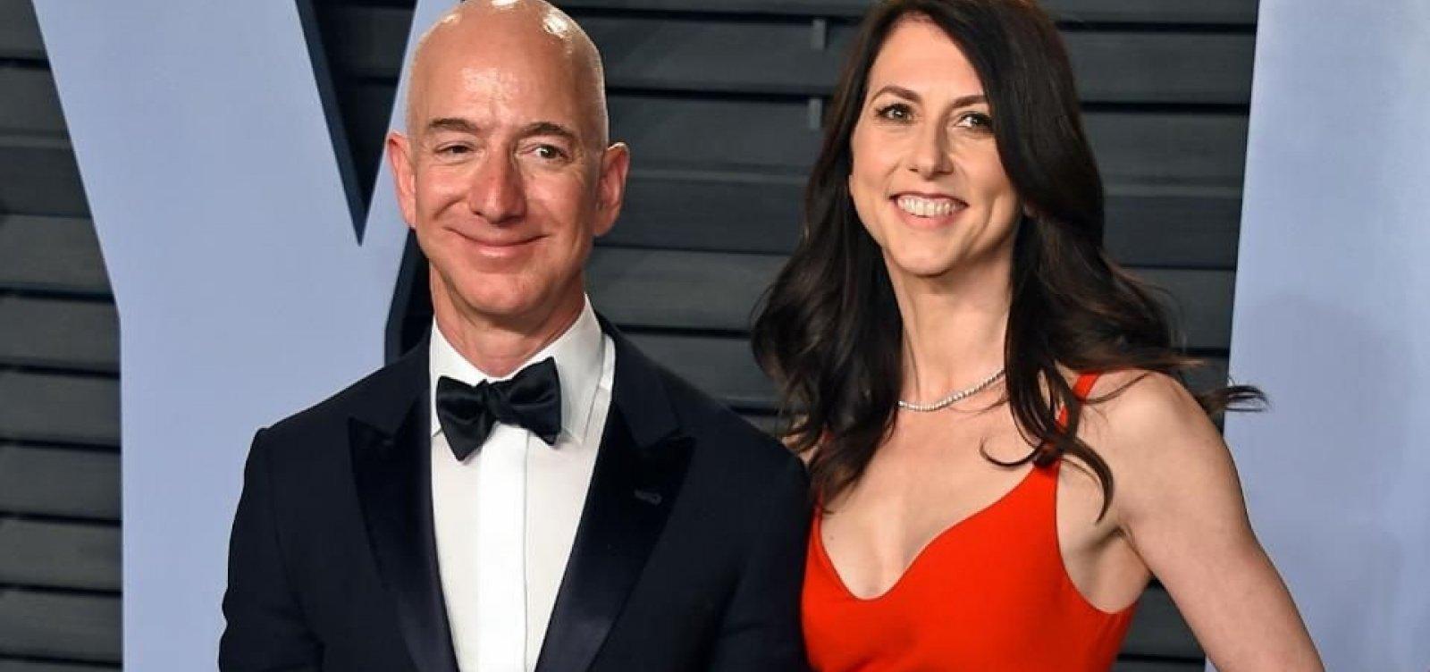 MacKenzie Bezos vai doar metade de sua fortuna para a caridade