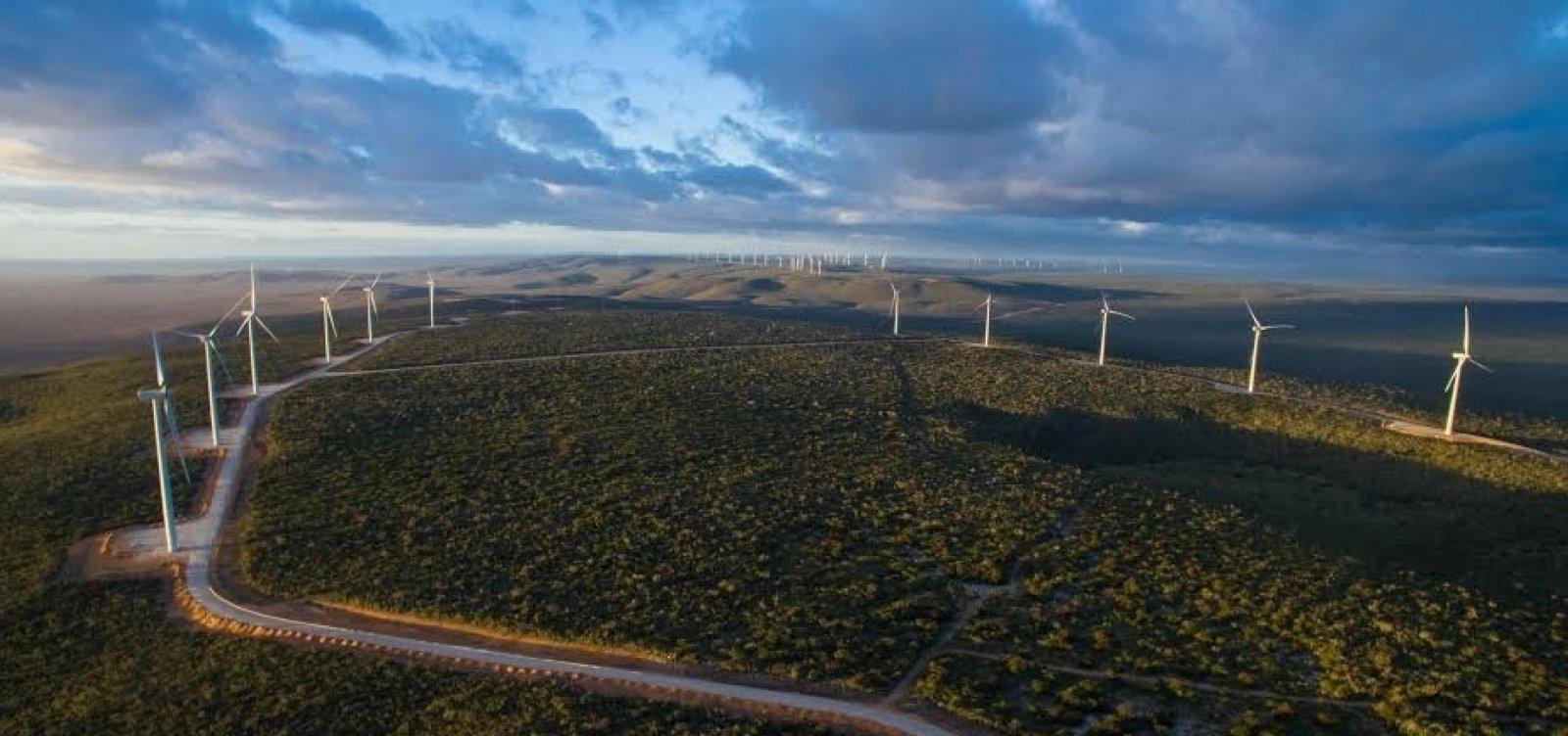 Bahia é responsável por 26% da capacidade instalada de energia eólica do país