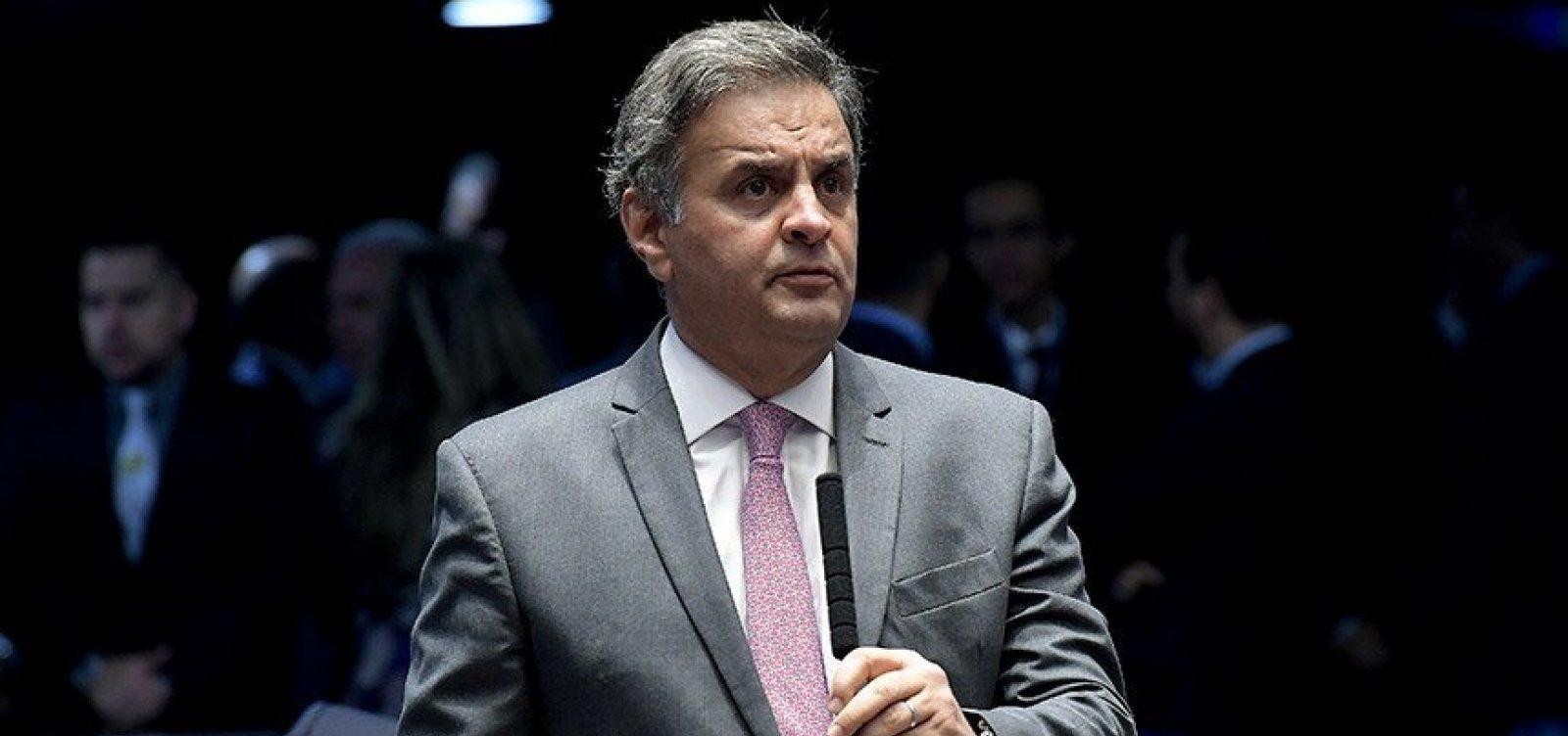 Justiçadetermina bloqueio de R$ 128 milhões de Aécio Neves