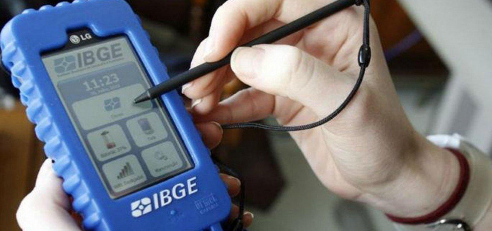 IBGE anuncia redução dos questionários do Censo 2020