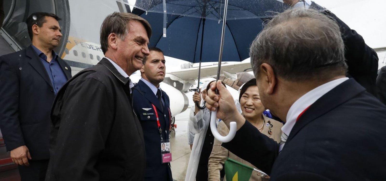 Não vim ser advertido por outros países, diz Bolsonaro ao rebater Merkel