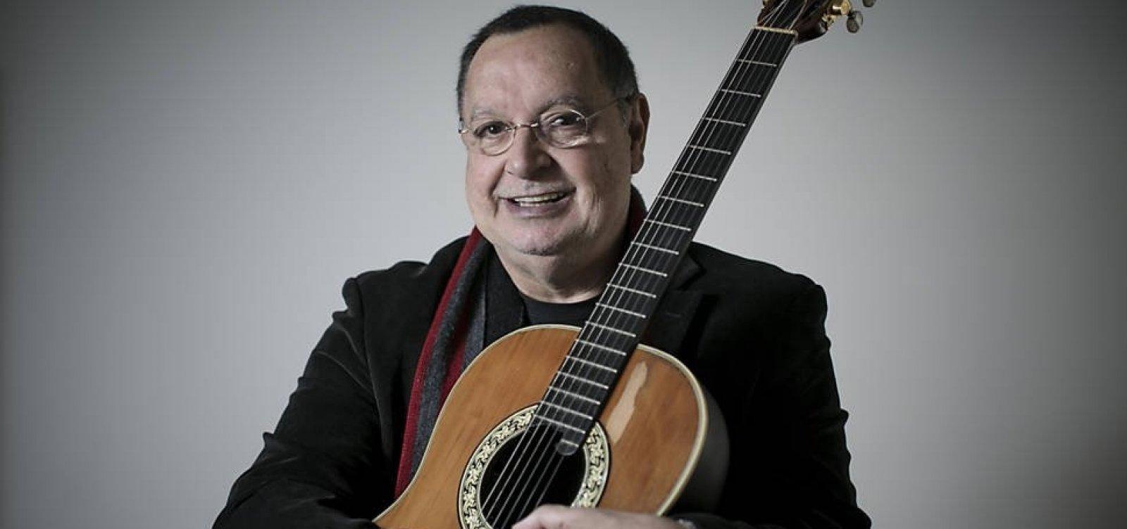 Walter Franco sofre AVC e está internado em São Paulo