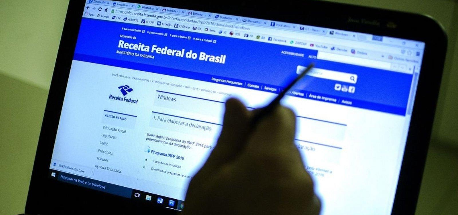 Receita Federal paga restituições do 5º lote do IR 2019