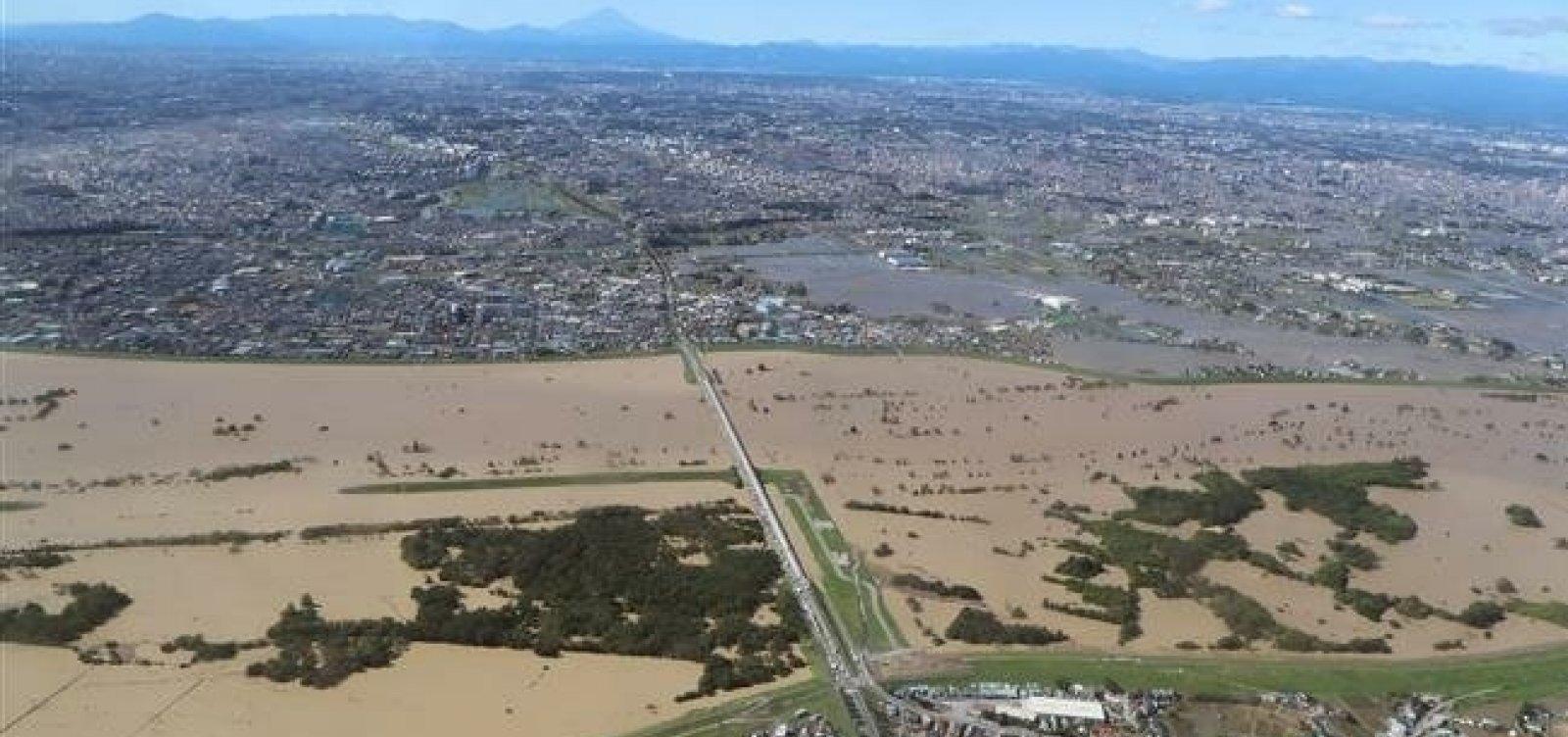 Japão: tufão Hagibis alaga mais de 12 mil residências