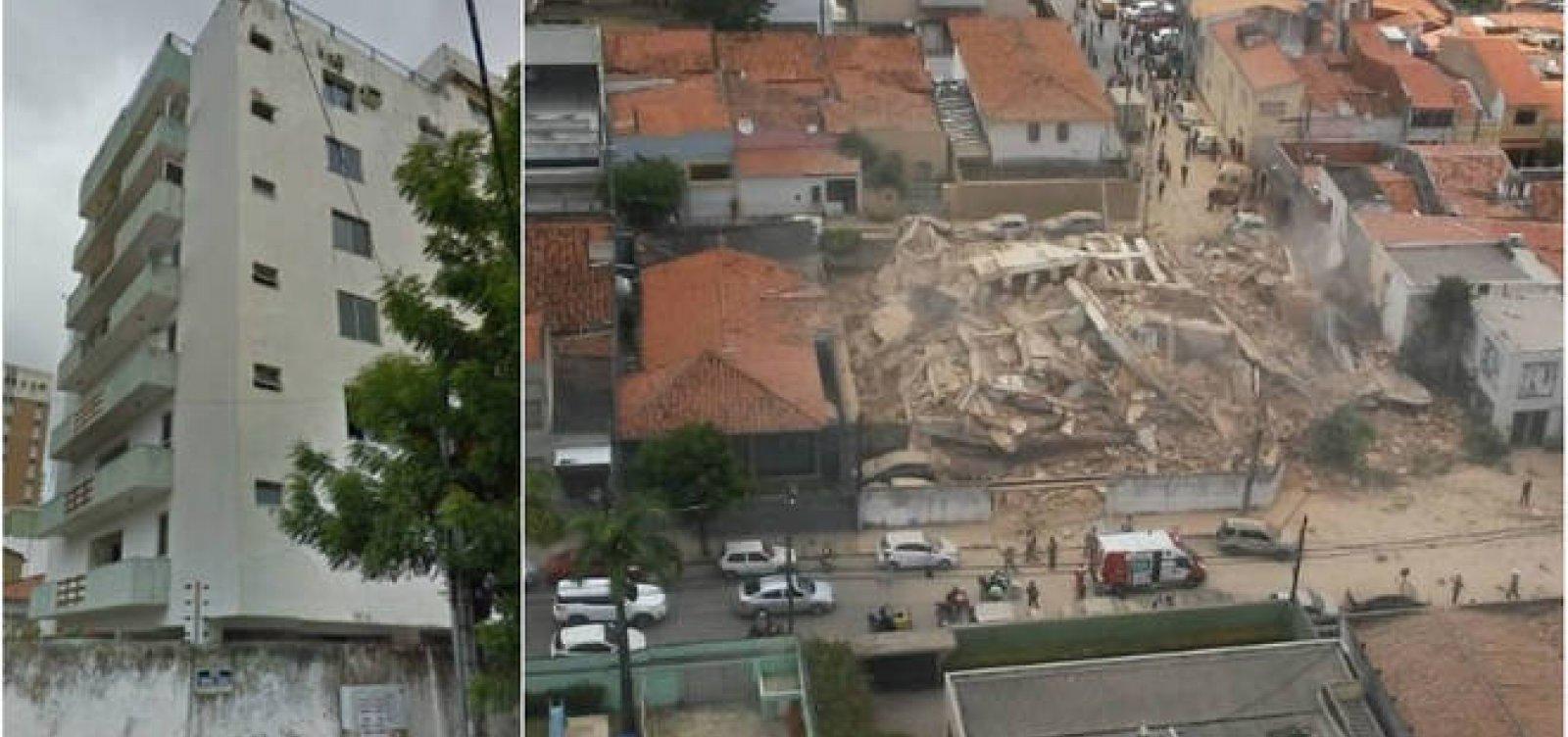 Bombeiros voltam atrás e dizem que não há mortes em queda de prédio em Fortaleza